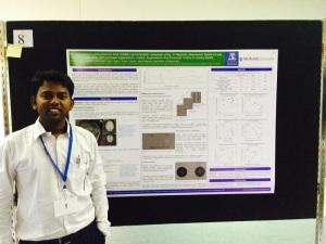 Kabilan and his poster